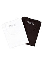 LEVIS 2 Pack Tanc S/S T-Shirt black/white