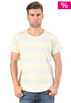 LEVIS Box Fit Henley S/S T-Shirt putty stripes