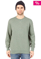 LEVIS Heather Fleece Sweatshirt worn green