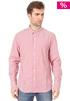 LEVIS L/S Classic No Pocket Shirt waldron stripe - crimson