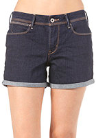 LEVIS Rolled Short dark blue jay