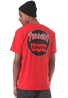 LEVIS Skate Graphic S/S T-Shirt mars red
