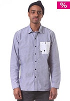 LEVIS Skate Maker L/S Shirt patriot blue oxford w/ contrast