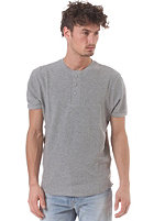 LEVIS Slim Waffle Henley S/S T-Shirt heather grey