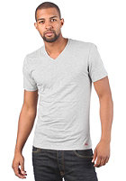 LEVIS V Neck 2Pack S/S T-Shirt white/grey