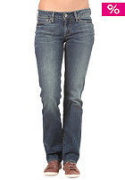 LEVIS Womens 570 Demi Curve Straight Pant whitening blue