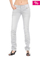 LEVIS Womens 571 Slim Fit Jeans chalk worn in