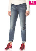 LEVIS Womens Classic Demi Curve Slim 5 Pocket Denim Pant sunkissed blue