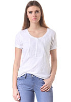 LEVIS Womens Henley W / Twisted Neck S/S T-Shirt white