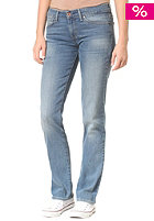LEVIS Womens Md Dc Straight Jeans medium bleach