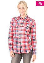 LEVIS Womens Sawtooth L/S Shirt red caro