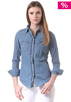 LEVIS Womens Tailored Western Shirt stone bleach