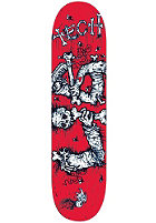LIB TECH Dismembered Logo Red Deck 7.875