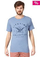 LIFETIME Let Spirits Ride S/S T-Shirt heather blue