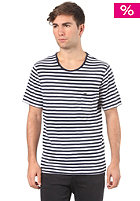 LIFETIME The Weight S/S T-Shirt navy stripe