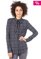 LIFETIME Womens Plaid Sammy Shirt navy plaid