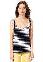 LIFETIME Womens Striped Sienna Tank Top blue stripe