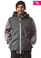 LIGHT 3B Jacket anthra/grey heather