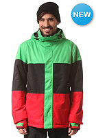 LIGHT Astro Jacket flash green/black/red