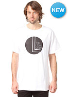 LIGHT Black Dot S/S T-Shirt white