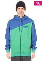 LIGHT Bug Hooded Zip Sweat Kelly Green/Royal