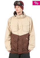 LIGHT Chinch Jacket sponge-brown