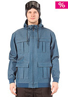 LIGHT Dane Softshell Jacket Blue Denim