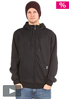 LIGHT Double Hooded Zip Sweat black