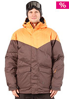 LIGHT Down Jacket Orange/Brown