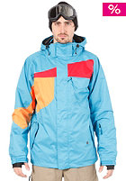 Elmo Jacket Electric Blue/Orange/Red