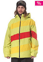 LIGHT Folsom 3 Snow Jacket sulphur yellow red