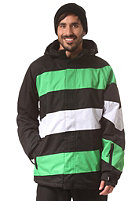 LIGHT Folsom 4 Jacket black/flash green/white
