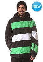 LIGHT Folsom 4 Jacket black/flash green/white