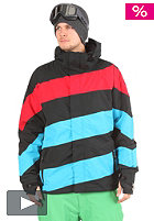 LIGHT Folsom Jacket black/electric blue/red