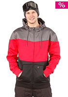 LIGHT Fury Hooded Zip Sweat 2013 Grey/Red/Black
