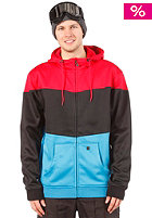 LIGHT Fury Hooded Zip Sweat 2013 Red/Black/Electric Blue