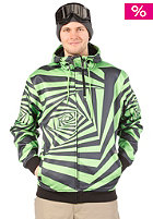 LIGHT G52 Hooded Zip Sweat Flash Green/Black
