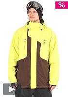 LIGHT Jackson Snow Jacket brown/acid