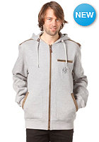 LIGHT Landlord Hooded Zip Sweat grey heather