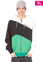 LIGHT Loc Hooded Zip Sweat 2013 White/Black/Kelly Green