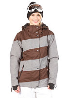 LIGHT Mia Jacket 2013 Grey Heather/Brown