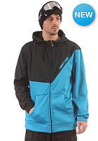 LIGHT Porter 2 Jacket black electric blue