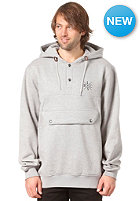 LIGHT Pouch Hooded Sweat grey heather