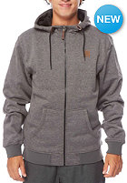 Saw Hooded Zip Sweat dark grey heather