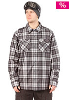 LIGHT Sea Shell Shirt 2013 Flannel Plaid Charcoal