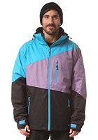 LIGHT Sieben Jacket hawaiian blue/orchid/black