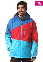 LIGHT Sieben Jacket imperial red/hawaiian blue