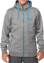 LIGHT Softshell Sots Jacket dark grey heather