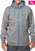 LIGHT Softshell Sots Jacket dark grey heather