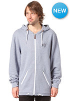 LIGHT Solo Hooded Zip Sweat blue heather